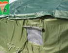 三层加厚棉建筑工地施工帐篷批发