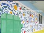 南京较专业幼儿园彩绘,培训班,教育机构软装手绘壁