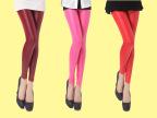 韩版显瘦修身皮裤 女亚光长裤子2015春季新款薄款大码仿皮打底裤