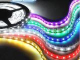 低压防水5050 LED灯带12V灯带60灯珠宝柜台灯RGB七彩