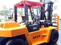 合力杭州7吨二手柴油叉车,二手7吨叉车带侧移属具升高4米叉车