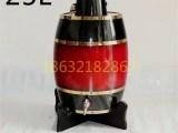 石家庄木质酒桶生产厂家25升木酒桶批发价格木制酒桶散装木桶