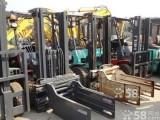 上海浦东区二手叉车回收 二手林德电动叉车回收