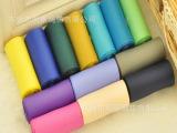 厂家生产彩色礼品丝带 DIY罗纹带 螺纹带 环保发饰配件涤纶织带