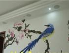 云浮墙体壁画、墙体彩绘、餐厅壁画