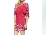 欧美高端品牌服装 厂家直批 外贸原单重磅真丝宽松连衣裙夏季女裙