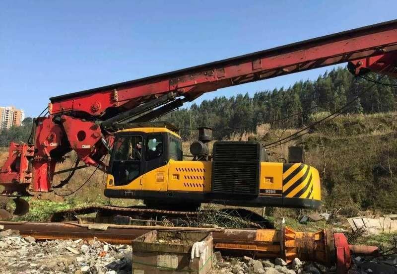 柳州市河池市中联重科旋挖桩机公司低价格承接旋挖桩机旋挖桩业务
