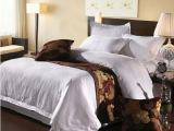 宾馆酒店布草床上用品 被套床单 高档全棉提花四件套 加工定做