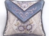 欧式简约信封式靠垫奢华绣花欧式沙发靠垫抱枕办公室靠垫/抱枕套