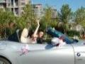 日照宝马婚车3系5系7系敞篷,车友自发组织。