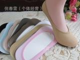 厂家新款女袜 糖果隐形船袜 天鹅绒夏季纯色丝袜批发