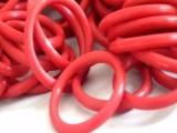 食品级供应 耐高温低温食品级硅胶o型圈红色 国标2.5线径