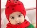 韩版婴儿帽甲壳虫冬帽/儿童帽围巾两件套宝宝帽 瓢虫帽子 童帽