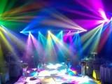 池州灯光秀表演北极光秀楼体投影