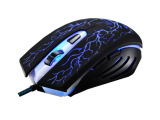 追光豹G6 炫彩专业游戏鼠标 USB游戏鼠标 智能调速 厂家直销