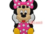 迪士尼 米妮 三星苹果多款型号 硅胶手机保护套