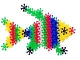 批发幼儿园桌面玩具立体彩片雪花片积木儿童玩具拼插积木早教玩具