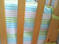 贝乐堡达芬奇系列新西兰松木婴儿床