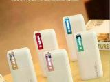 新款5节3U彩色LED灯移动电源苹果小米