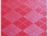 厂家批发2015欧美流行风格箱包材料大红方格菱形人造pvc皮革