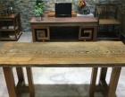 鸡翅木实木大板电脑桌、书桌、学习桌、办公桌、茶桌、茶海会议桌