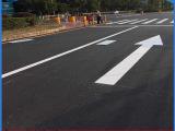 深圳道路划线厂家 马路斑马线 通道线施工