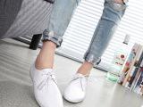2015春季新款真皮舒适单鞋正品头层牛皮单鞋 欧美风时尚女单鞋
