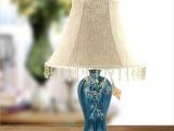 天徕盛饰名家 欧式仿古台灯 床头灯 客厅灯 经典梅瓶(小) 台灯