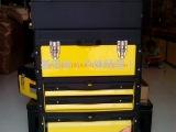 【厂家直销】各种塑铁加强塑料组合工具箱 车载工具箱