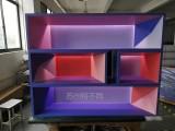 苏州特不同美发店展柜定制单品厂家生产来样加工展柜定制