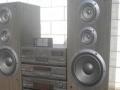 进口二手雅马哈功放音响调音台低音炮组合音响CD机
