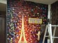 墙体彩绘 手绘墙壁画3D立体画 围墙彩绘 新农村彩