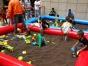 郑州游乐道具租赁充气城堡攀岩水池海洋球沙滩玩具等