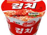 韩国拉面批发 农心辣白菜桶面112g