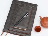 商务记事本厂家定制 高档笔记本订做 pu 活页 记事本定做【正则