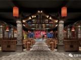 合肥餐饮店装修设计,驿轩装饰给味觉留有视觉空间