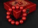 红脸王 鸡血红手串 1.8-2.0 印度小叶紫檀佛珠手链 高密