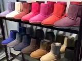 ugg雪地靴女靴男鞋批发市场 厂家推荐 泡泡龙鞋包