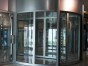 玻璃门安装 草桥钢化玻璃门安装