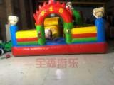 儿童充气城堡滑梯游乐设备