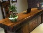 莱芜老船木家具批发小户型茶桌椅组合图片古船木茶台