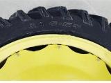 雷沃拖拉機后輪輪胎型號12.4-54人字花紋層級16