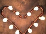 美式复古壁灯咖啡厅酒吧客厅玄关灯具个性艺术灯饰创意工业水管灯