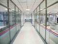 塘沽玻璃隔断 塘沽百叶隔断 隔断墙专业制作安装