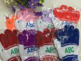 字母ABC保暖儿童五指手套  针织手套   可爱保暖舒适手套
