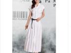 2014 韩国女装 29730春夏新款 韩版时尚舒适无袖宽松超长款连衣裙