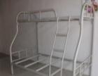 双层铁架床 工厂员工宿舍上下铺学生高低床工地架厚铁床
