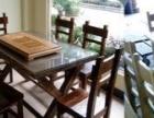 基本状况  碳烧实木餐桌椅  本厂是一家生产制作各
