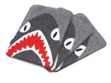 大鲨鱼卡通毛毡包 15寸笔记本电脑保护套