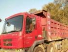 出售二手较轻皮砂石王前四后八自卸车,自重11.5吨。
